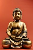 Beautiful Buddha Statue With Eyes Closed