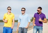 picture of bachelor party  - summer - JPG