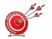 Personal Development.  Business Concept.