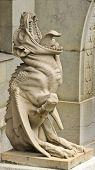 Statue Of A Chimera/gargoyle