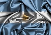 Satin Flag, Three Dimensional Render