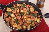 Kielbasa Potato Meal