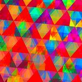 Diamond-Like Triangle Pattern