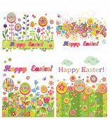 Easter seamless cards