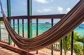 Hammock And Sea