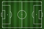 pic of offside  - illustration of lined football field background for your design - JPG