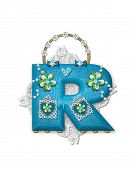 Alphabet Bling Bag R