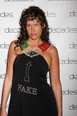 LOS ANGELES - MAR 20:  Paz De La Huerta at the Decades: Les Must De Moschino Event at Decades Boutiq