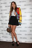 LOS ANGELES - MAR 20:  Erica Pelosini at the Decades: Les Must De Moschino Event at Decades Boutique