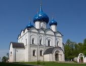 Nativity Cathedral in the Kremlin of Suzdal, the Vladimir region