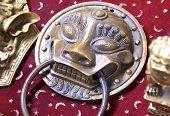 brass knocker