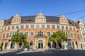 image of old post office  - ERFURT GERMANY  - JPG