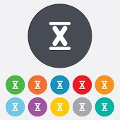 pic of roman numerals  - Roman numeral ten sign icon - JPG