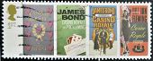 UK - CIRCA 1995 : stamp printed in UK with James Bond Agent 007 of Ian Fleming Casino royale