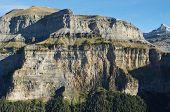 Mountains from Calcilarruego Balcony, Ordesa National Park, Pyrenees, Huesca, Aragon, Spain
