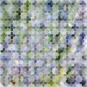 Lavender Pastel Defocused Background With Geometric Ornament. Eps10