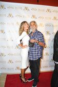 LOS ANGELES - SEP 10:  Tommy Chong, wife at the Dance With Me USA Grand Opening at Dance With Me Stu