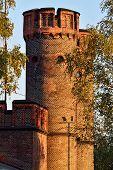 Friedrichsburg Gate At Sunset. Kaliningrad (formerly Koenigsberg), Russia