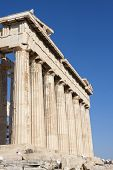 Parthenon In Acropolis
