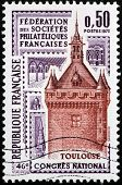 Toulouse Stamp