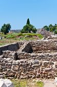 The Ruins Of The Ancient City Of Side, Turkey