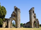 Glastonbury Abbey in Somerset