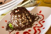 foto of panna  - Italian Dessert called  - JPG
