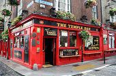 Famous Temple Bar In Dublin