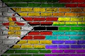 Dark Brick Wall - Lgbt Rights - Zimbabwe