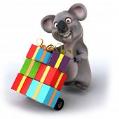 stock photo of koala  - Fun koala - JPG