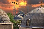 Sundown in Istanbul