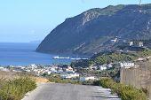 View Of Kefalos On Kos Island