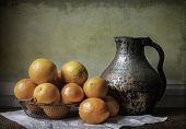 Oranges and Pitcher
