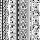 Tribal Ethnic Seamless Pattern