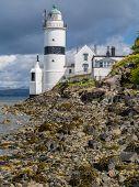 Cloch Lighthouse Near Gourock, Scotland