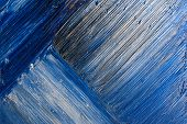 blue abstract blue paint brushstrokes