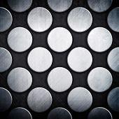 dot pattern metal background