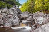 stock photo of acadian  - Broad River Along Moose Horn Trail (Fundy National Park New Brunswick Canada)