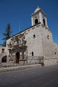 Church of San Agustin in Arequipa