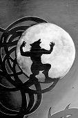 Street art Montreal werewolfe