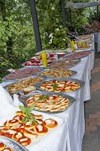 Catering Buffet In The Castle