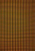 Black hole grid with yellow backlight