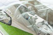 Interior Of New Modern Model Bmw Car