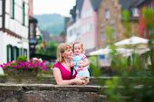 Family In A German City