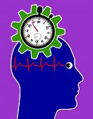 Health Risk Through Stress