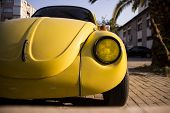 The Yellow Volkswagen Beetle