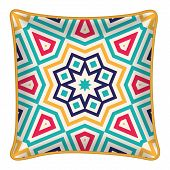 stock photo of pillowcase  - Interior design element  - JPG