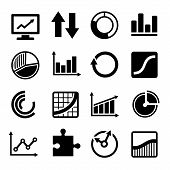 Business Diagram and Infographic Icons Set