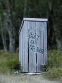 Out Of Order Outhouse