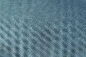 Texture Shiny Fabric Of Dark Blue Green Color